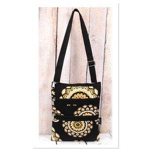 Mandala Sun Crossbody Bag